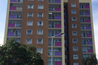 EWI Refurbishment, Cumberland Towers