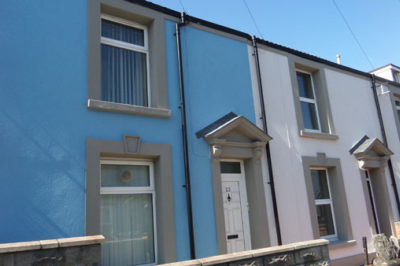 EWI Refurbishment, Sandfields Scheme 4