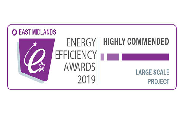 Highly Commended at East Midlands Awards