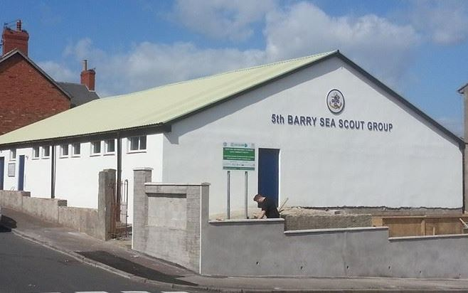 SPSenvirowall helps boost local Scout hall